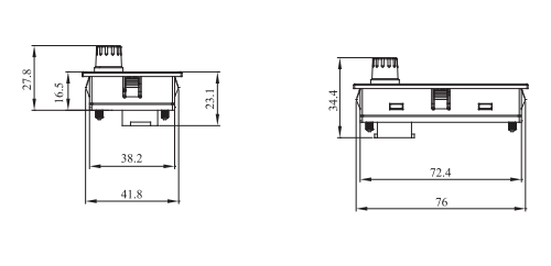东元变频器s310面板安装尺寸